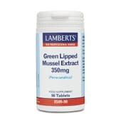 El Extracto de Mejillón de Labio Verde 350mg de Lamberts mejora tu salud articular.