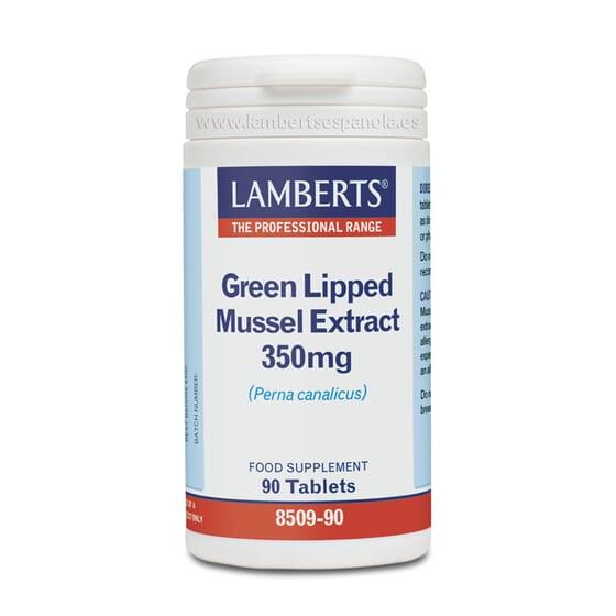 O Extrato de Mexilhão de Lábio Verde 350mg da Lamberts melhora a tua saúde articular.