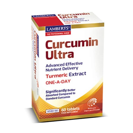 Favorece o cuidado articular com Curcumin Ultra.