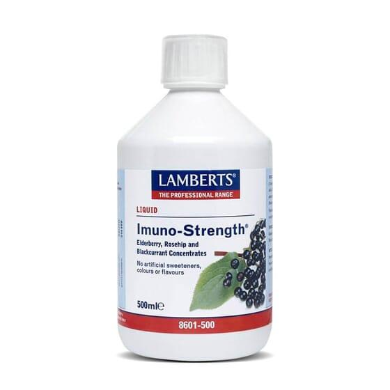 Imuno-Strength 500ml, sumo concentrado de sabugueiro, escaramujo e groselha!