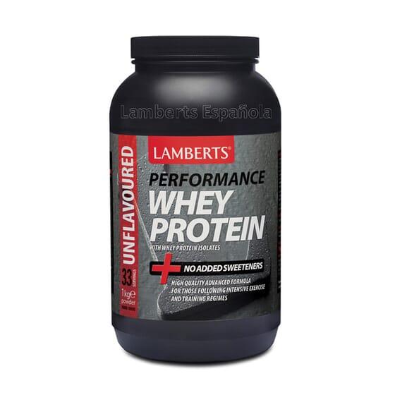 Whey Protein de Lamberts est un mélange de protéines de lactosérum et de magnésium.