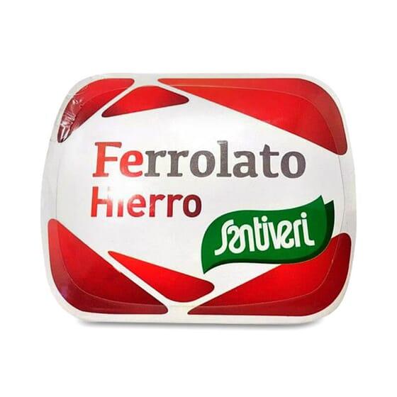 Ferrolato (Fer) apporte du fer facilement assimilable.