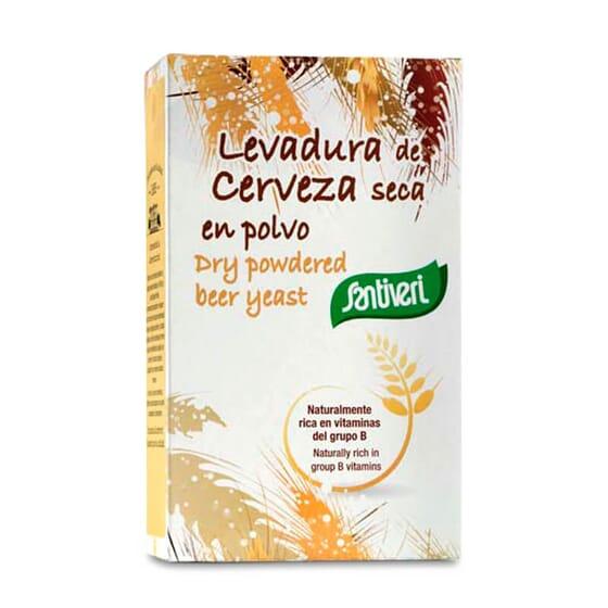 A Levedura de Cerveja da Santiveri é uma fonte de proteínas.