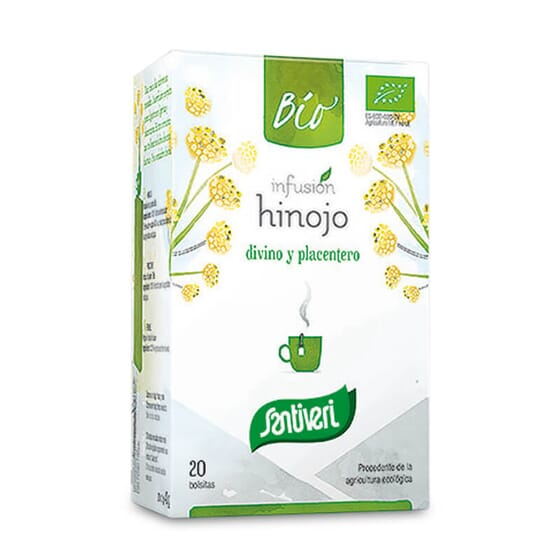 Infusion Fenouil Bio facilite vos digestions.