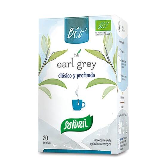 La Infusión Té Earl Grey Bio de Santiveri es una infusión ecológica de té negro.