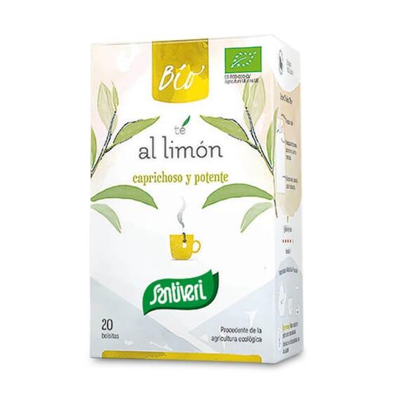 A Infusão Chá com Limão Bio da Santiveri é uma infusão ecológica.