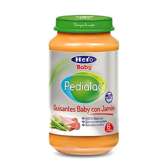 Potito de Guisantes Baby con Jamón es ideal para la cena o comida de tu bebé.