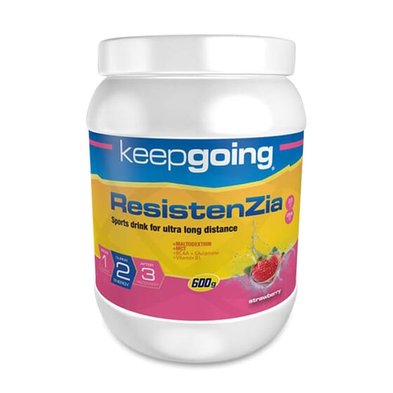 Mantén la energía en deportes de larga duración con ResistenZia.
