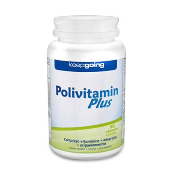 Polivitamin Plus de Keepgoing es un completo multivitamínico y mineral.