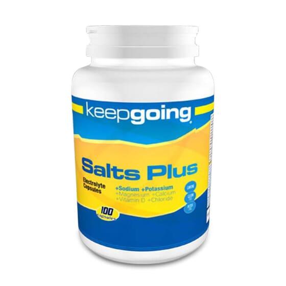 Salts Plus Electrolyte And Activation mantiene los niveles de electrolitos.