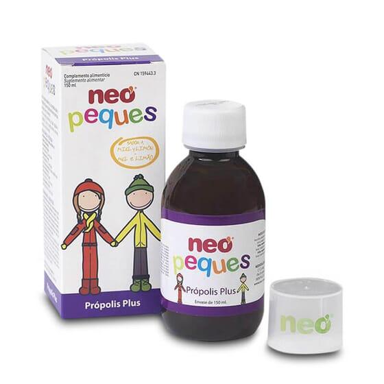 Neo Peques Própolis Plus fortalece o sistema imunológico.