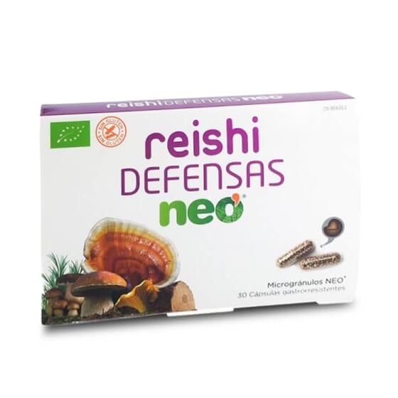Reishi Defesas Neo potencia o teu sistema imunológico.
