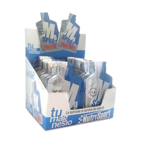 Magnésio Líquido em confortáveis monodoses.