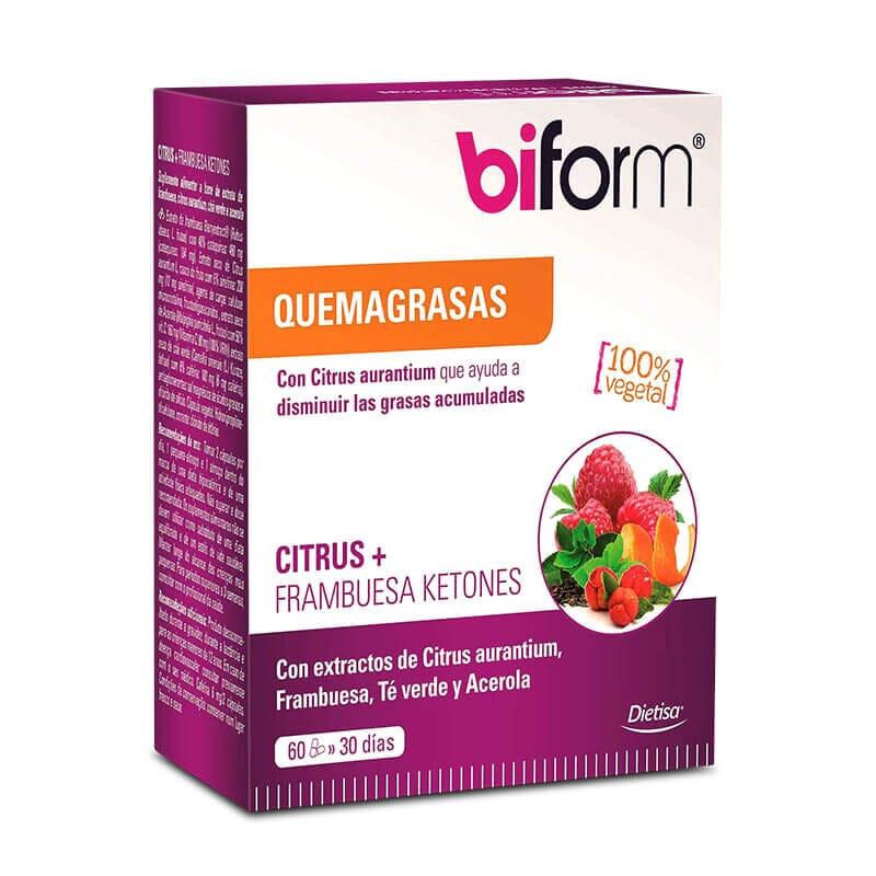 CITRUS + CETONAS DE FRAMBUESA - Biform - 100% vegetal