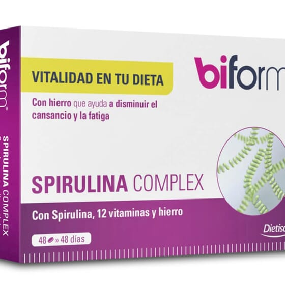 Spirulina Complex contribue à réduire la sensation de fatigue.