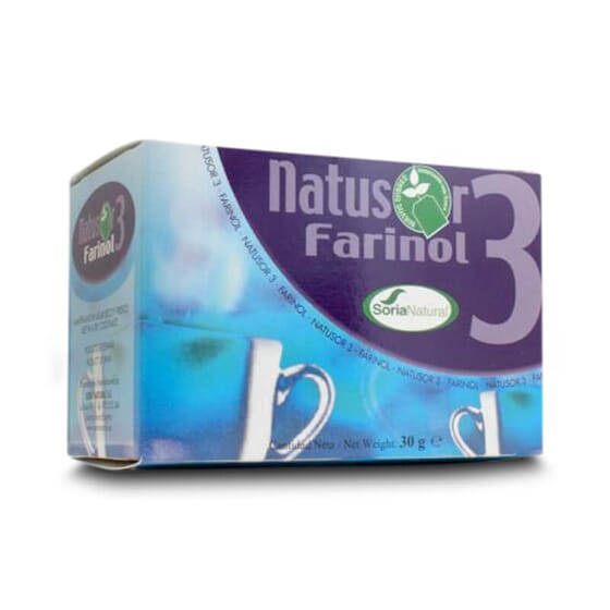 Natusor 03 Farinol favorece el cuidado de la garganta.