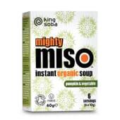 Sopa de Miso con Calabaza y Verduras Sin Gluten Bio - King Soba