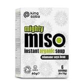 Sopa de Miso y Semillas de Edamame Sin Gluten Bio - King Soba