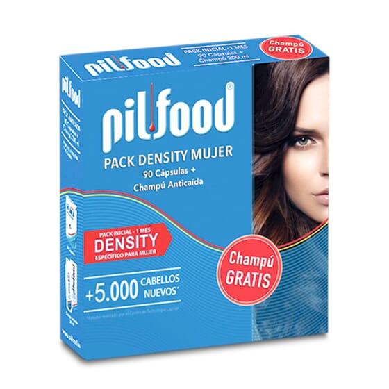 Pilfood Pack Density Femme + Shampooing gratuit - Traitement anti-chute