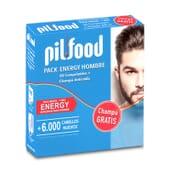 Pilfood Pack Energy Hombre ayuda a frenar la caída del cabello.