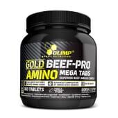 Gold Beef-Pro Amino de Olimp ayuda a evitar el catabolismo muscular.