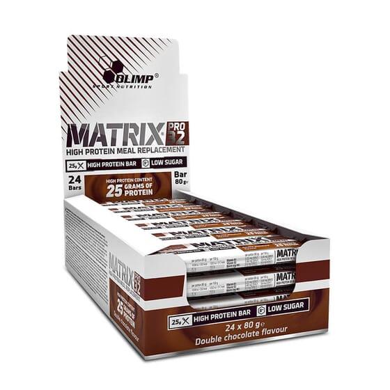 Matrix Pro 32 de Olimp contient 26,2 g de protéines.