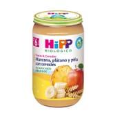 Boião Maçã, Banana E Abacaxi Com Cereais Bio 250g da Hipp