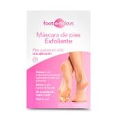 Foot e-nn Love Máscara de Pés Exfoliante ajuda a reduzir a pele endurecida.