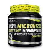 100% Mono-Hidrato De Creatina Micronizada 300g da Biotech USA