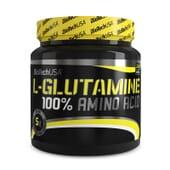 100% L-Glutamina está indicado para estimular la síntesis proteica.