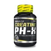 Créatine PH-X est formulée à base de monohydrate de créatine tamponné.