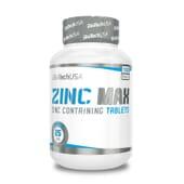 Zinc Max 100 Tabs di Biotech USA