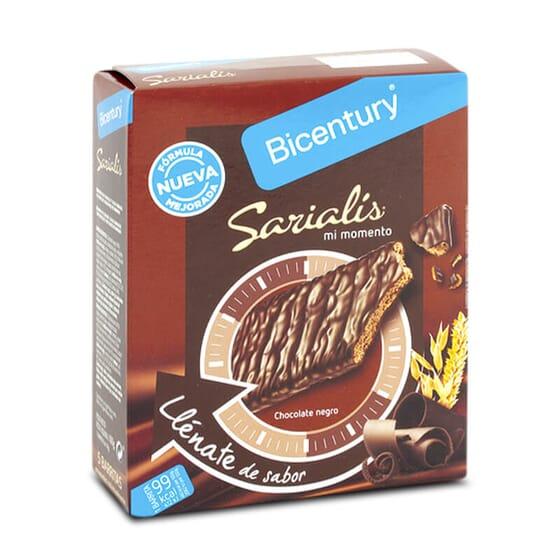 Accordez-vous un petit plaisir  de 99 kcal avec Sarialis Barres aux Céréales et Chocolat Noir.