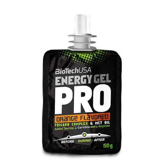 Energy Gel Pro de Biotech USA te aporta energía para tus entrenamientos.