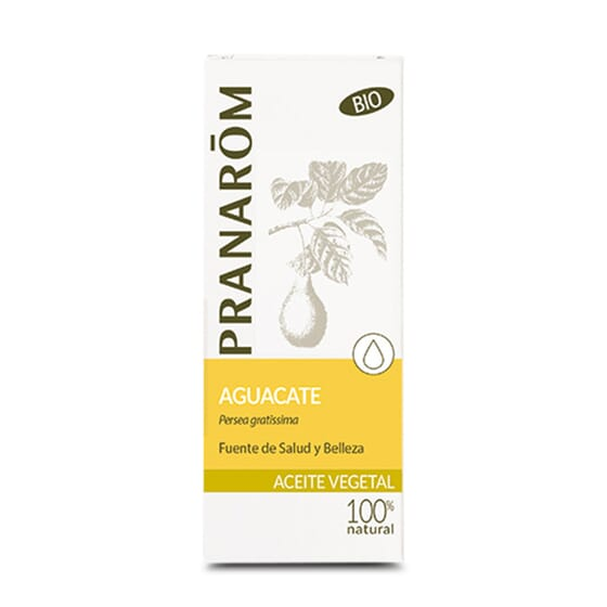 HUILE VÉGÉTALE AVOCAT BIO 50 ml de Pranarôm