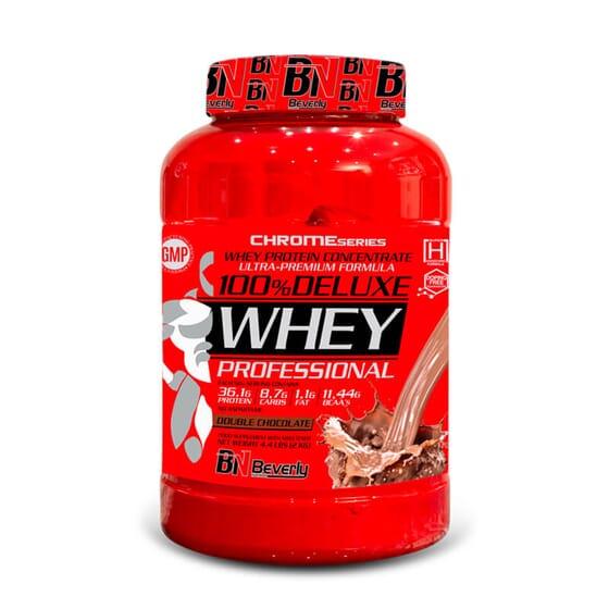 100% Deluxe Whey Professional es bajo en grasas ni azúcares.