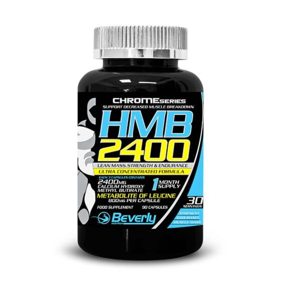 HMB 2400 potencia o crescimento muscular, a força e a resistência.