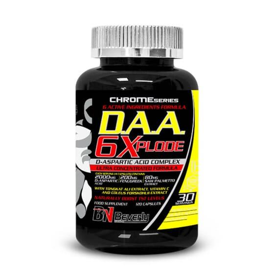 D.A.A.6 Xplode te ayudará a potenciar tus niveles de testosterona.