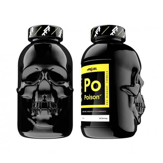 Poison V2 Pre-Workout potencia o rendimento e retarda a fadiga.