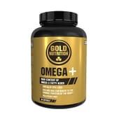 Ómega+ rico em ácidos gordos ómega 3.