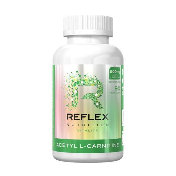 Acetil L-Carnitina 90 Caps de Reflex Nutrition