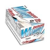 Deluxe Whey Bar são uma barras hiperproteicas ideais como pós-treino.