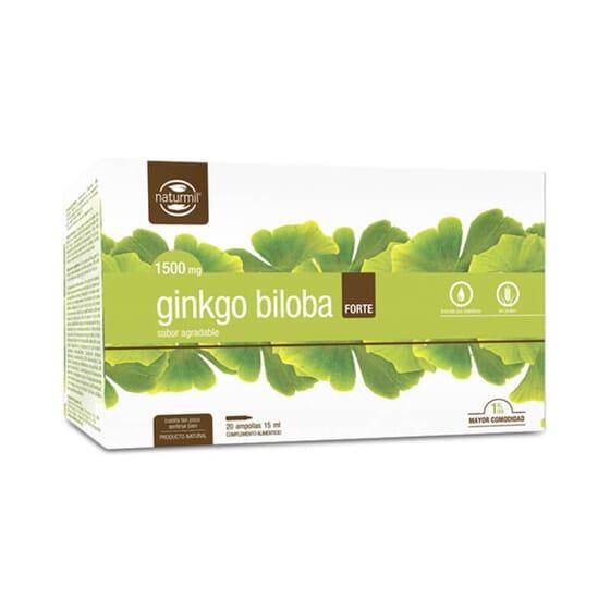 Ginkgo Biloba Forte favorece la microcirculación.