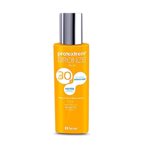 BRONZE DRY OIL SPF3O - PROTEXTREM - Bronzage naturel