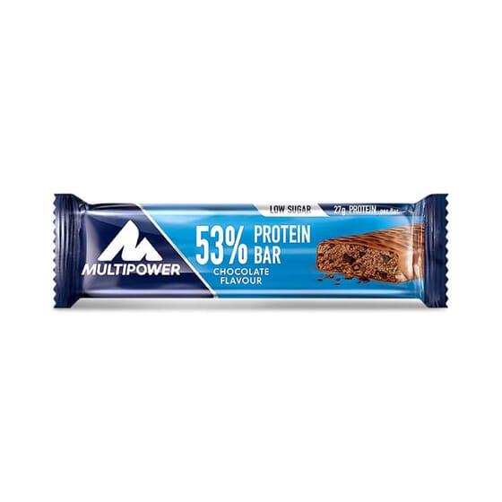 Barre Protéinée 53 % apporte 27 g de protéines.