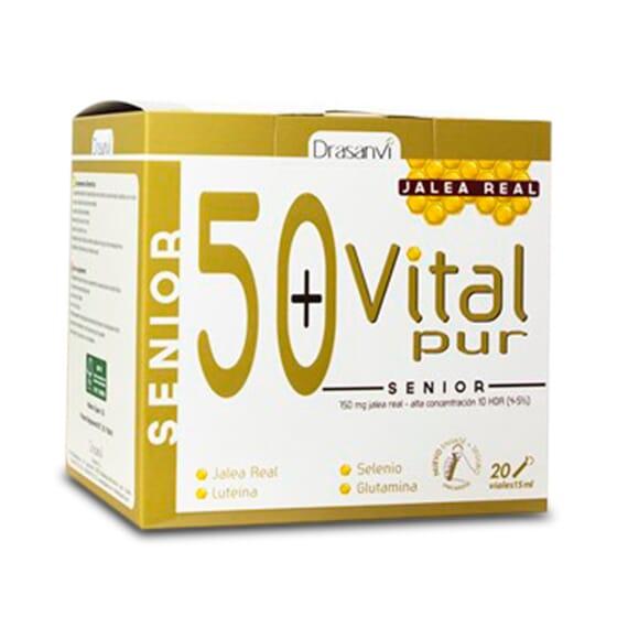 VITALPUR SENIOR 50+ 20 Viales de Drasanvi