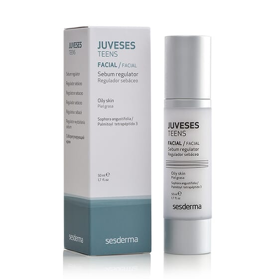 JUVESES TEENS SÉRUM REGULADOR SEBÁCEO 50ml de Sesderma