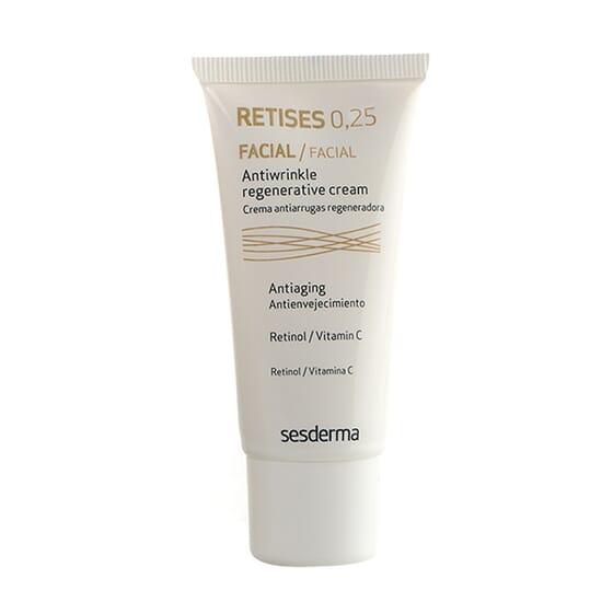 Retises 0,25% Crema Antirughe Rigenerante 30 ml di Sesderma