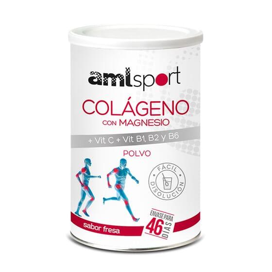 COLLAGÈNE AVEC MAGNÉSIUM + VIT C, B1, B2 ET B6 350 g de Amlsport