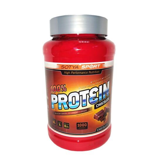 Proteína De Soja 100% 1000g da Sotya